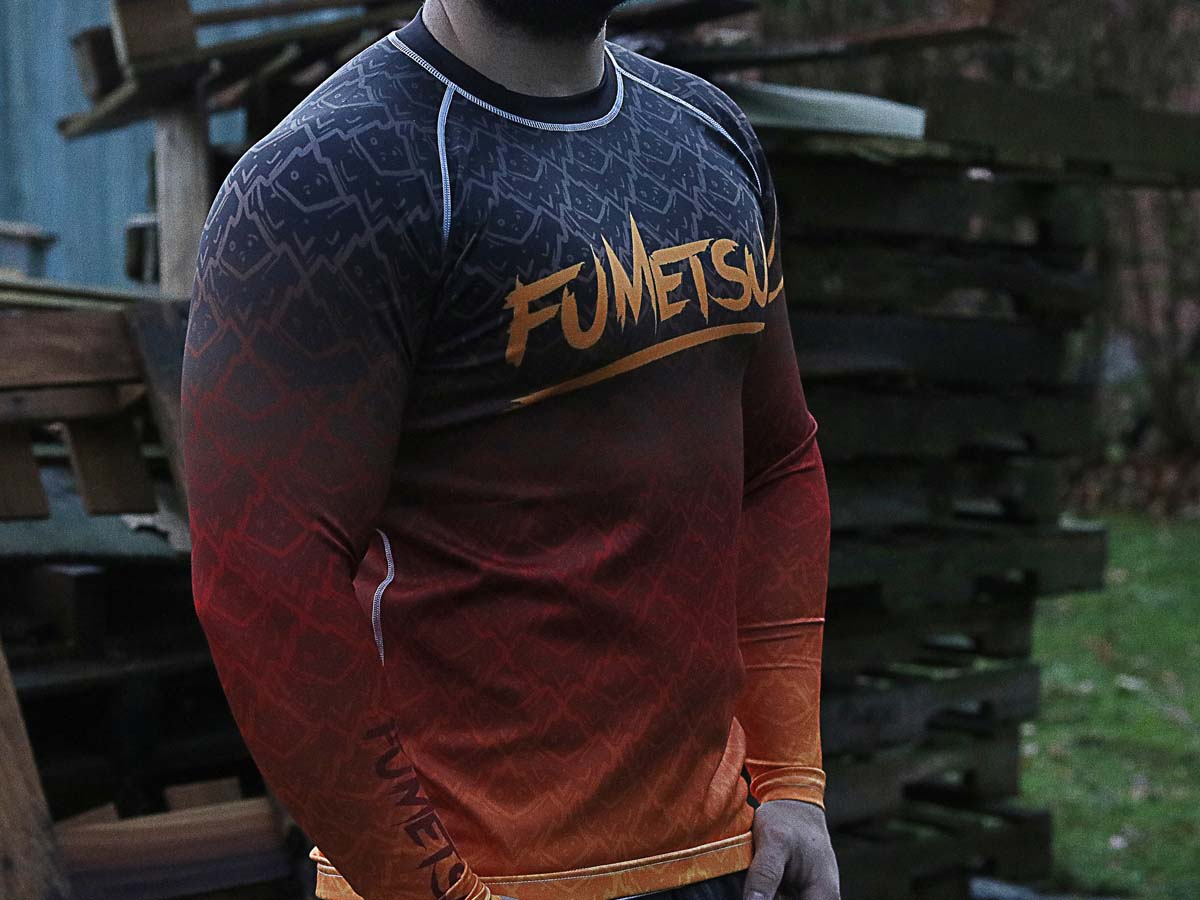 Fumetsu Elements Fire Rashguard