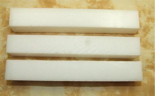 Lucite Pen Blank Snow White