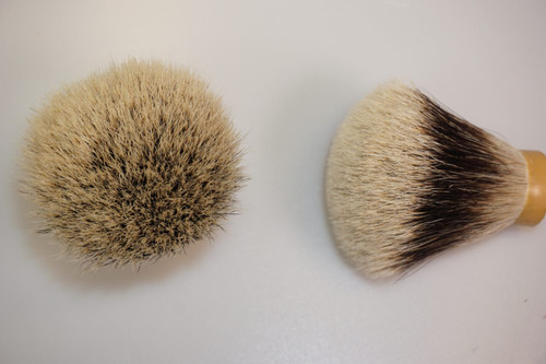 Finest Badger Hair knot FAN 24mm