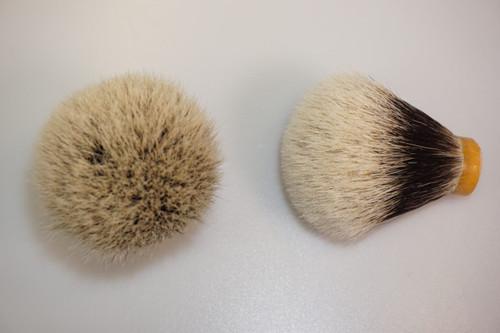 Finest Badger Hair knot bulb 22mm