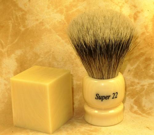 Tru Stone Brush Blank Banded Ivory