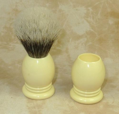 Brush Handle Ivory 22mm Style 3