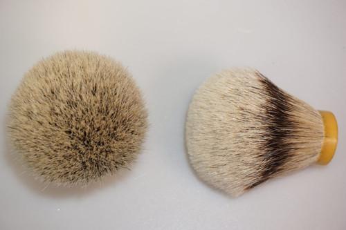 Silvertip Grade A badger knot 26mm