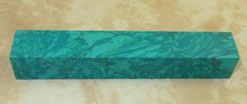 Tru Stone Pen Blank Chrysocolla 7/8