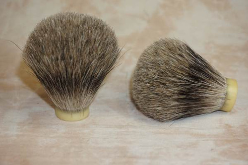 Pure Badger Hair knot 22mm
