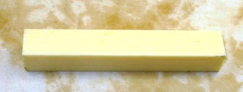 Tru Stone Pen Blank Banded Ivory 7/8