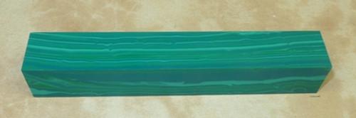 Tru Stone Pen Blank Banded Chrysocolla 3/4