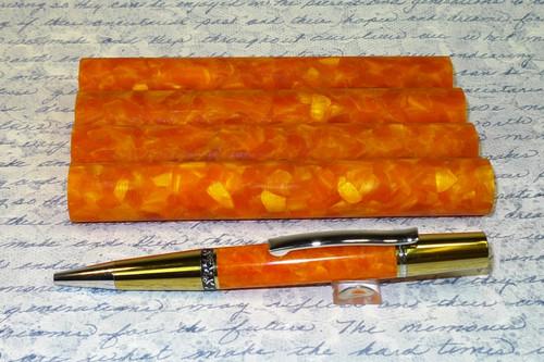 Delta Orange Acyrlic