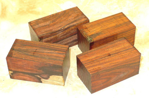 "Cocobolo Turning Blank 1.5"" x 3"""