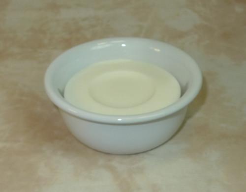 Ceramic Shave Bowl White