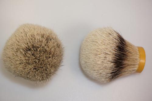 Silvertip Grade A badger knot 30mm