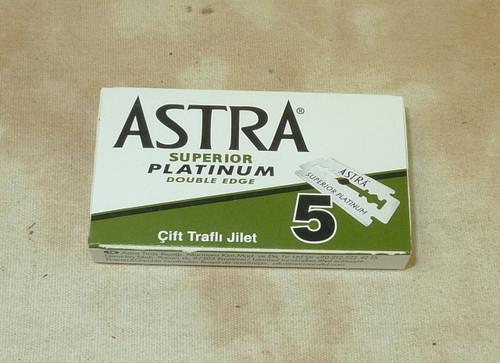 Astra Platinum Superior double edge Razor Blades