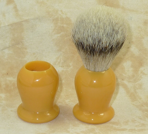 Brush Handle Butterscotch 22mm Style 1