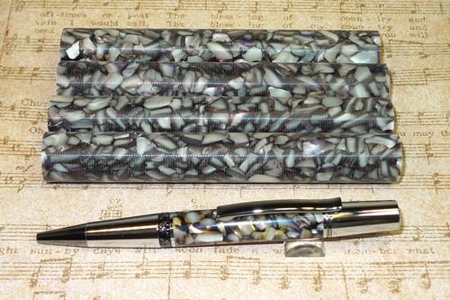 Sea Shell Chunk Acyrlic