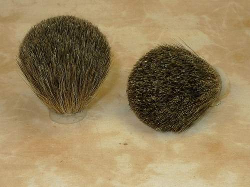 Mixed badger hair knot 22mm CLOSEOUT