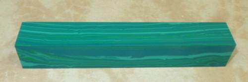 Tru Stone Pen Blank Banded Chrysocolla 7/8