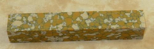 Tru Stone Pen Blank Leopard Skin Jasper 7/8