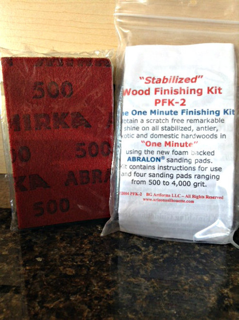 Wood finishing kit Abralon 4 pack