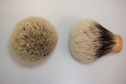 Finest Badger Hair knot Bulb 24mm
