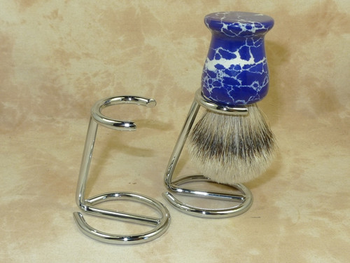 Omega Chrome Brush Stand 172
