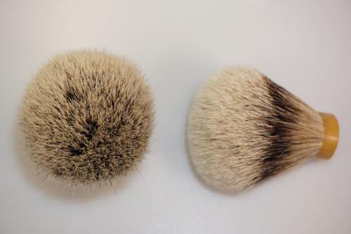 Silvertip Grade A badger knot 22mm