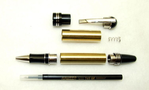 Windsor CH Rhodium Roller Ball pen kit