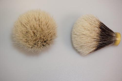 Finest Badger Hair knot 18mm