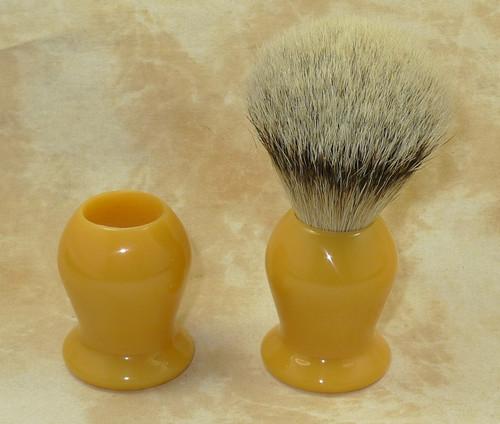 Brush Handle Butterscotch 20mm Style 1