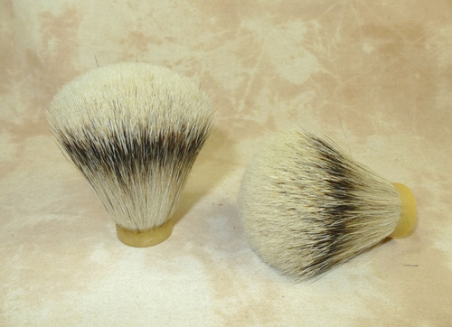 Silvertip Grade A Badger Hair Knot FAN