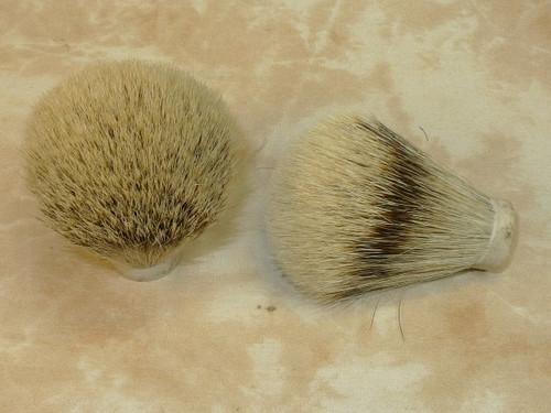 Silvertip Premium Badger Hair knot 18mm
