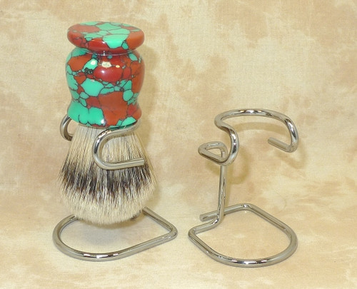 Omega Chrome Brush Stand 274
