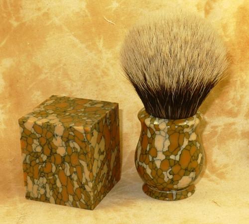 Tru Stone Brush Blank Leopard Skin Jasper