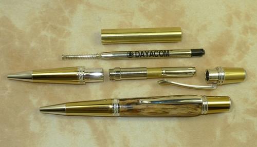 10 Pack Sahara Gold Ti & Rhodium