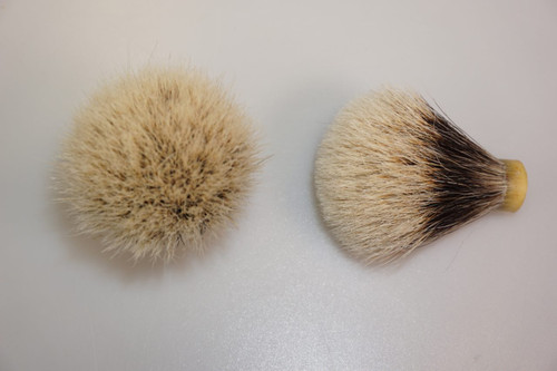 Finest Badger hair knot  16mm