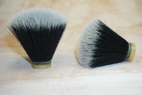 Synthetic Black Nylon shave knot FANY 24mm