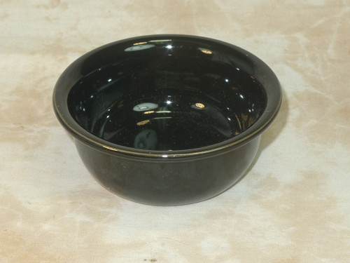 Ceramic Shave Bowl Black
