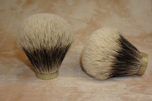 Finest Badger Hair knot 28mm