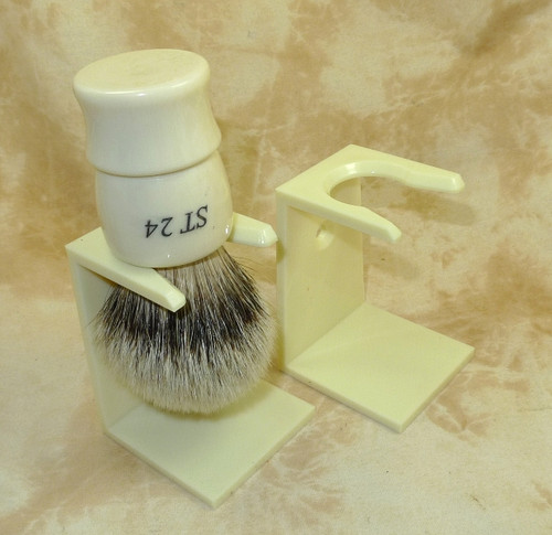 5 Pack Ivory Brush Stands