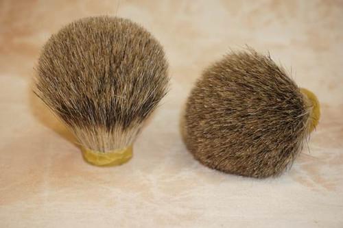 Best Badger hair knot 22 x 60 . Short Loft