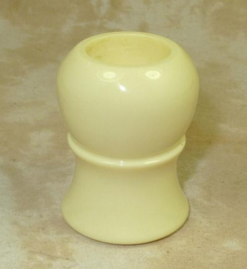 Brush Handle Ivory 22mm Style 2