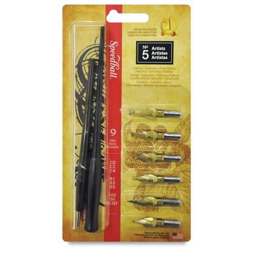 Speedball artist pen set