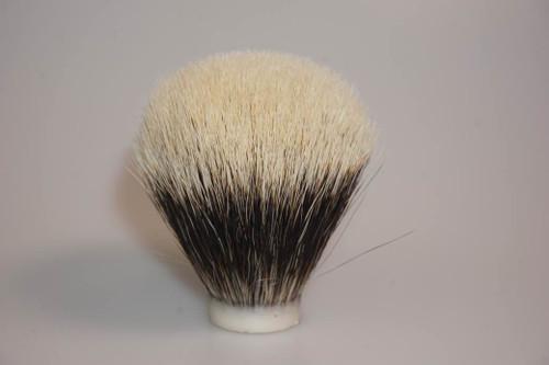 22mm super 2 band badger hair knot
