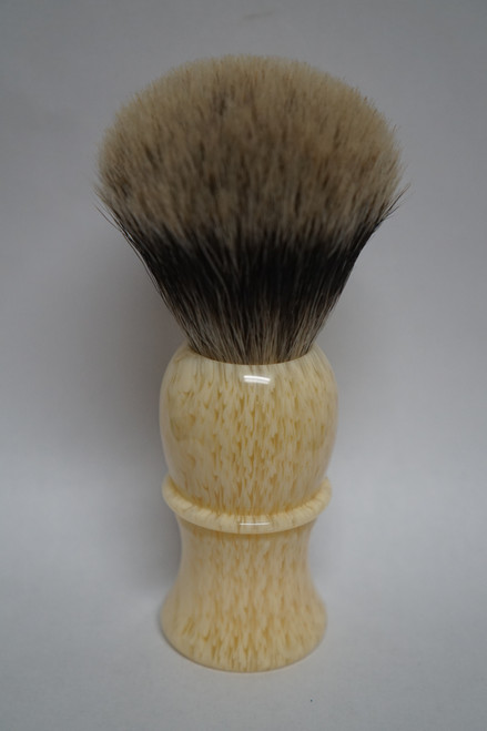 stripped ivory acrylic brush handle