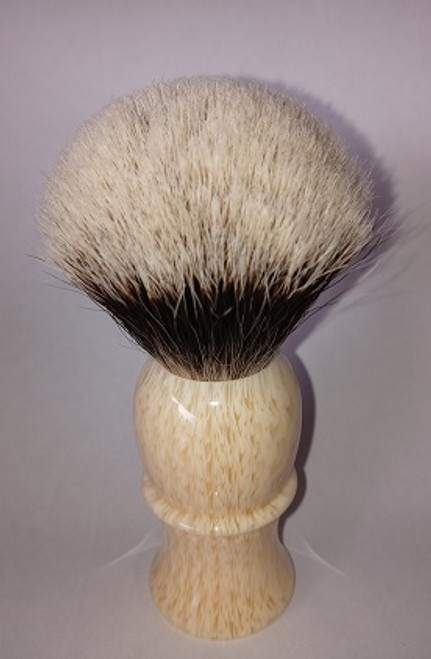 24 finest stripped ivory shave brush