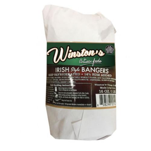 Winstons Irish Pork Bangers