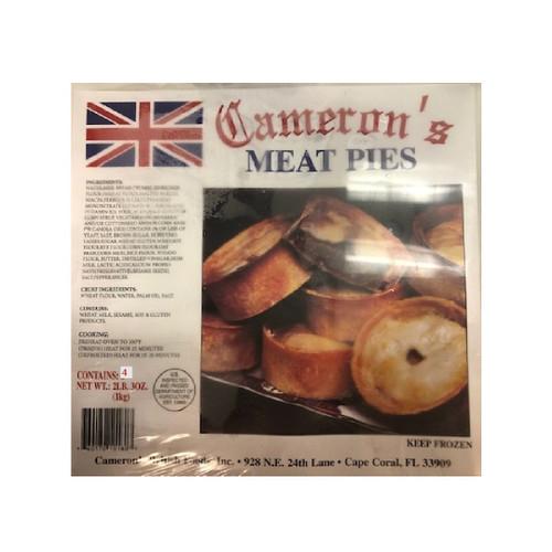 Camerons Meat Pies 4pk