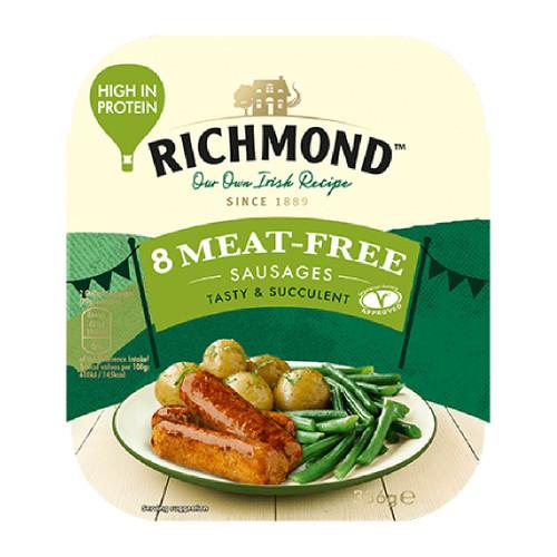 Richmond - Vegetarian 8 Meat Free Sausages 336g