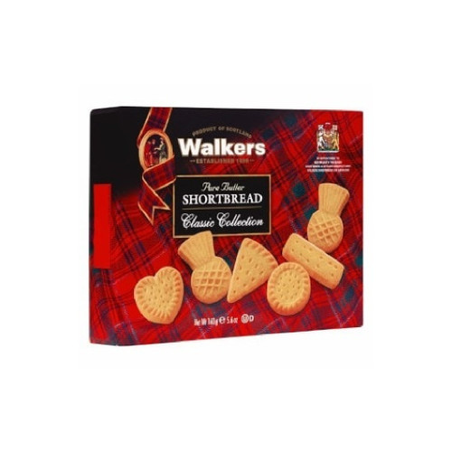 Walkers Classic Collection Box 160g /5.6oz