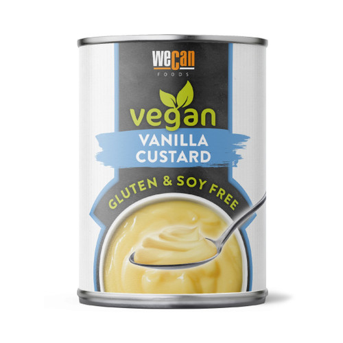 G329C  Vegan Vanilla Custard   14.1oz  x12  WeCan
