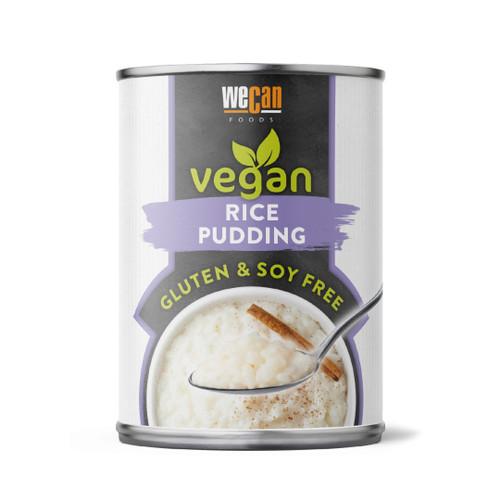We Can - Vegan Rice Pudding 14.1oz - Gluten & Soya Free 14.1oz